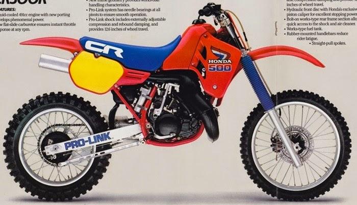 cr 500 r 1985 3 - MOTOCROSS - OS CAMPEÕES MUNDIAIS DOS ANOS 80