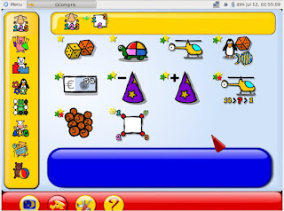 ScreenShoot Operating System Qimo For Kids ISO 700Mb