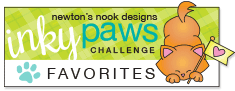 NEWTON'S NOOK DESIGNS INKY PAWS CHALLENGE