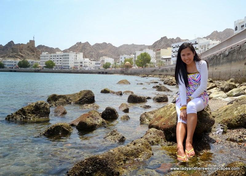 summer morning in Mutrah Corniche