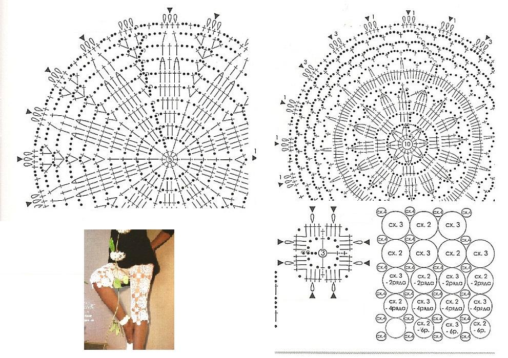 Pantalones a crochet patrones - Imagui