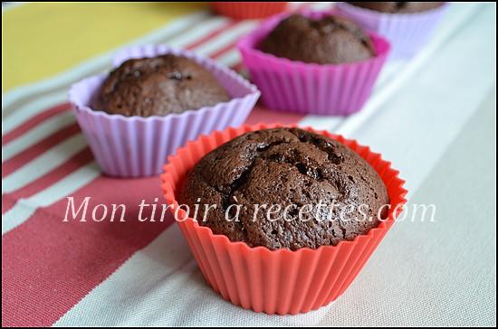 muffins sans beurre banane chocolat