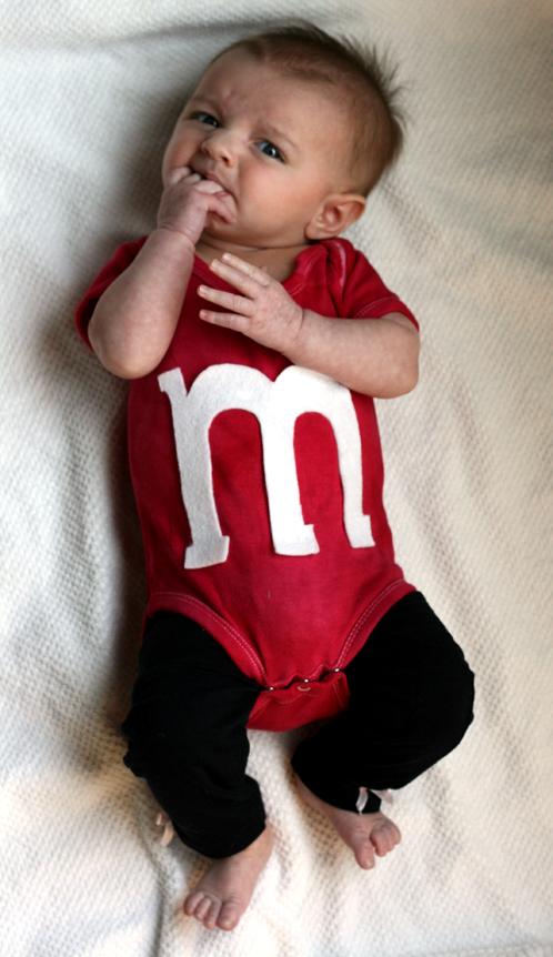 Diy Super Cute Baby M M Costume Erika Lee Sears