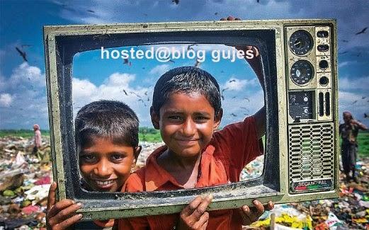 Nasib Si Anak Sampah Dapat Rangka TV