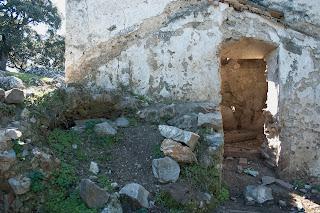 Casa de 'Las Zahurdas': restos de la bóveda de un horno de pan