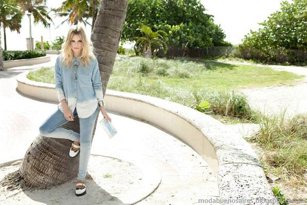 Peuque primavera verano 2014 jeans