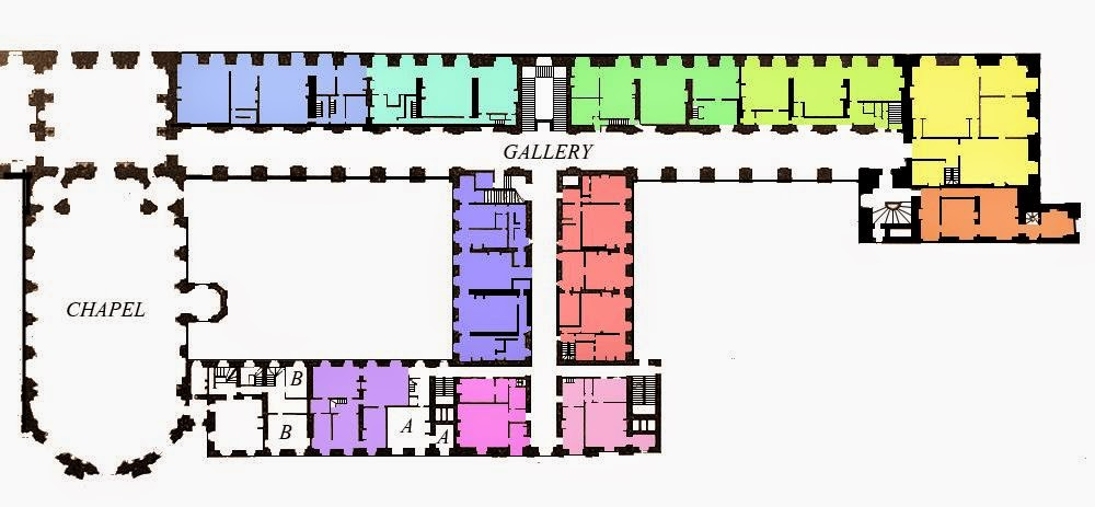Floor Plan Of The Masque Of The Red Death The Masque Of