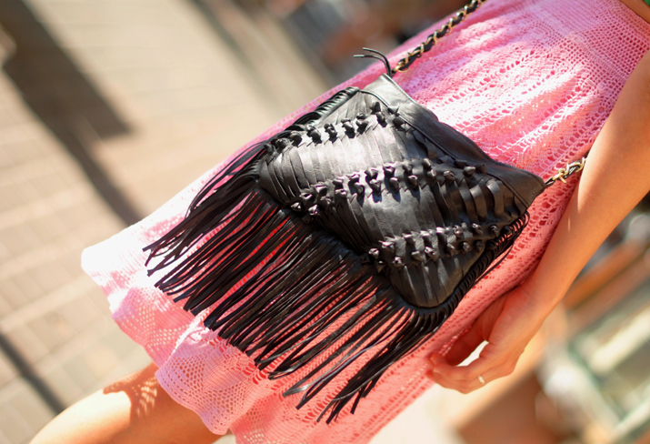 Fringe bag by fashion blogger Mnica Sors