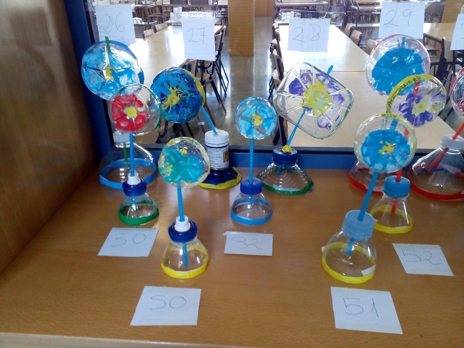 Manualidades escolares concurso de reciclaje habanero for Carteleras escolares de reciclaje