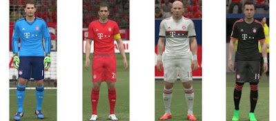 PES 2015 Bayern 2015-16 Kit By MT GAMES 1991