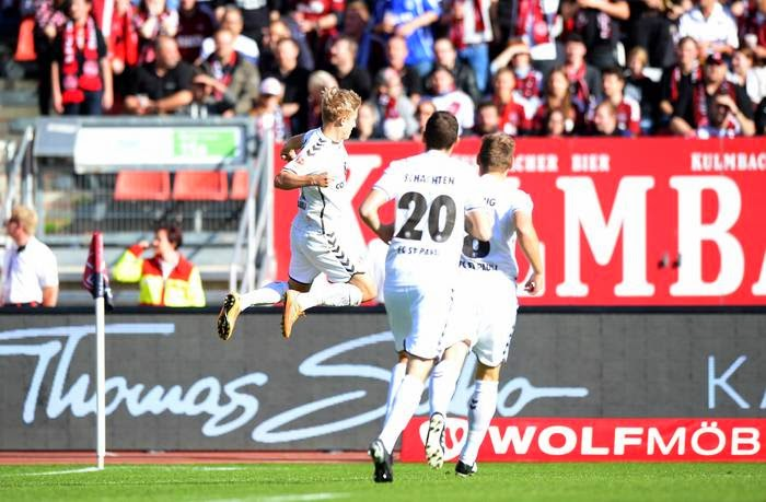 St. Pauli empata com o Nürnberg com placar de 2:2