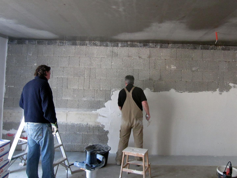 Alex en marjon: 2013 maart vloer en afbouw