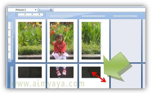 Gambar: Cara memperkecil/memperbesar ukuran foto/gambar di microsoft excel