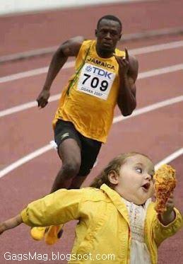 Olympics race gag