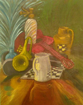Music Instruments - Still Life 2010