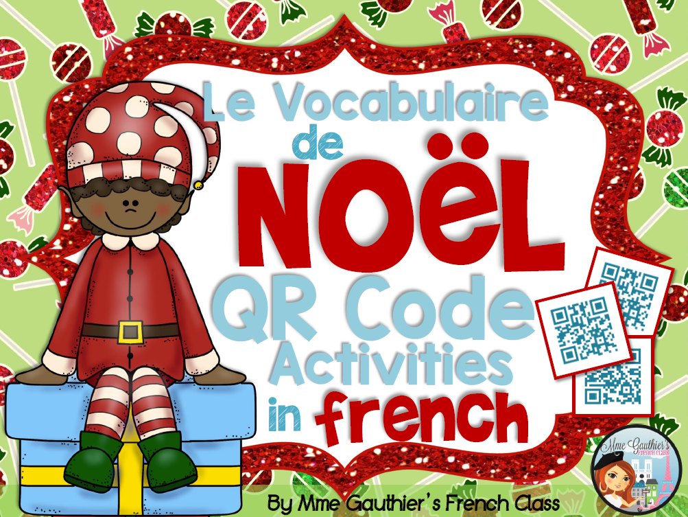 http://www.teacherspayteachers.com/Product/FRENCH-CHRISTMAS-QR-CODES-ACTIVITIES-1584485