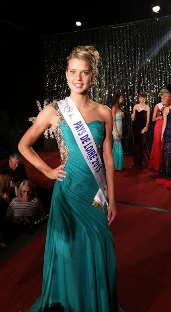 miss pays de loire angelina laurent robe gala