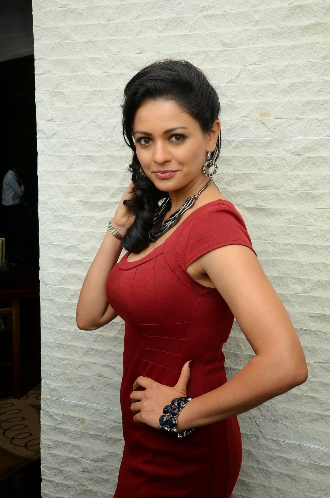 Pooja Kumar at Uttama Villain Press Meet
