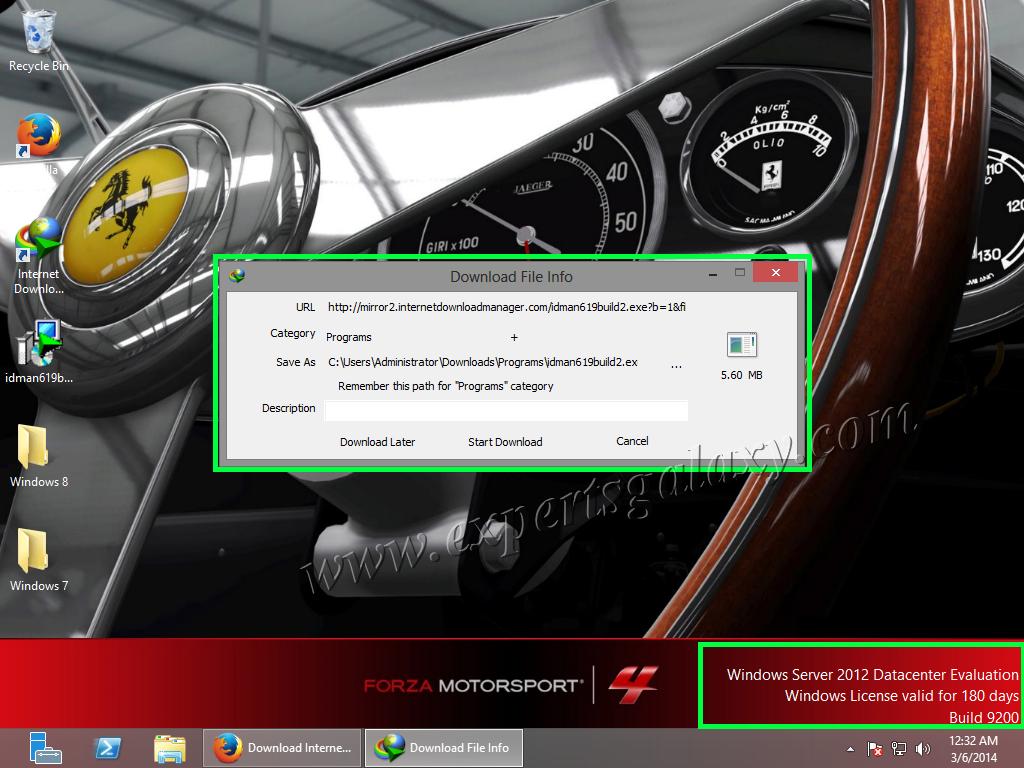 Windows Server Download Manager