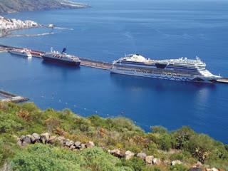 El puerto de Santa Cruz de La Palma crecerá nuevamente en tráfico de cruceros durante 2013 ~ CRUCERISTAS Y CRUCEROS
