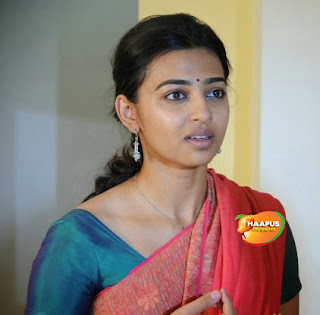 Radhika Apte Marathi Actress in Saree Cute beauty
