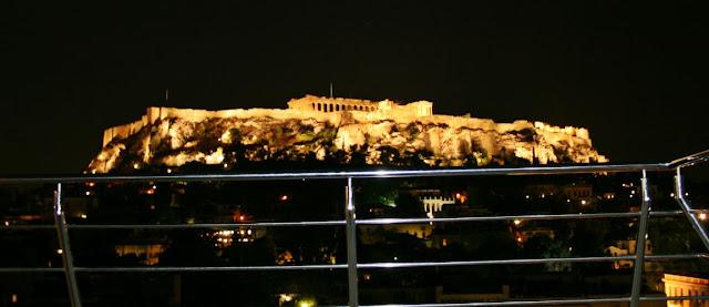 Acropolis de Atenas en Grecia