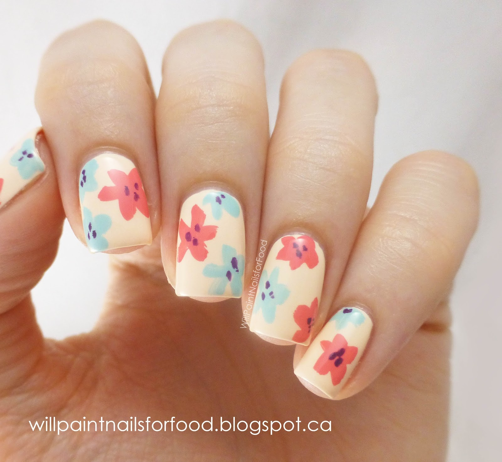 Cute Easy Summer Nail Designs – ledufa.com