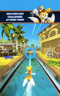 Sonic Dash: Sonic Boom Apk 3D