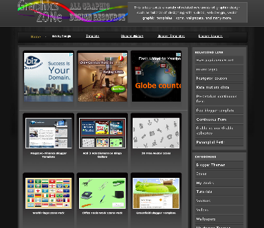 Bingo gallery blog template blogger templates 2013 for Photo gallery html template free download
