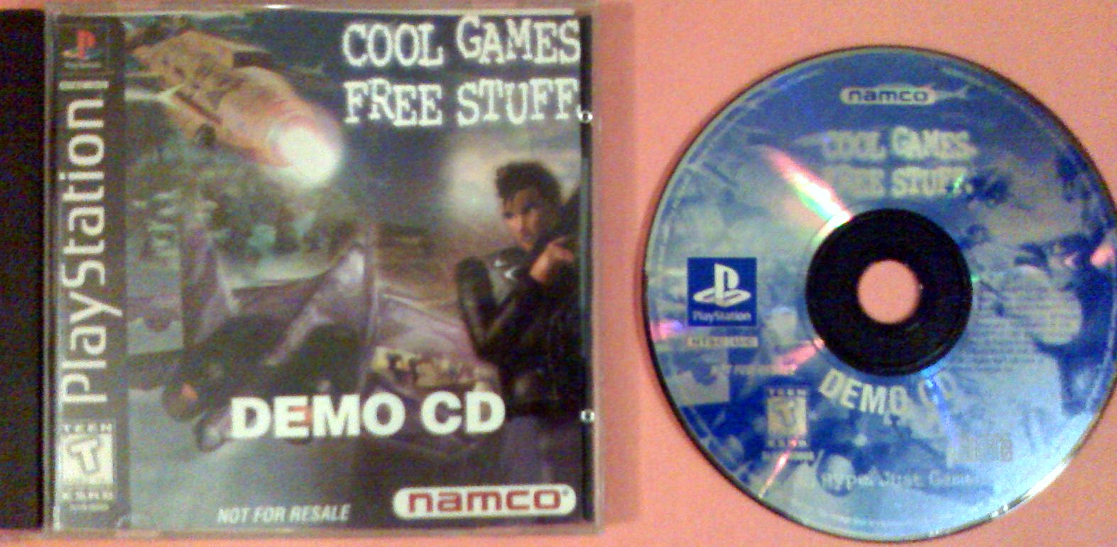 Cool Games For Free : Cool games free stuff namco demo disk