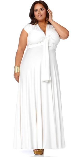 Fotos de Vestidos de fiesta para gorditas Hispabodas - imagenes de ropa para gorditas