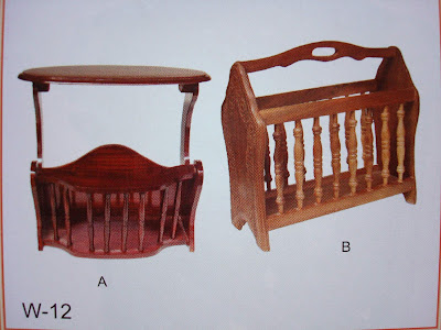 Wood Handicraft Elegant Furniture-012