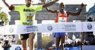 Wilson Kipsang bate el Record del Mundo en el Maratón de Berlín