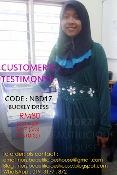 EIFFAH ~ CUSTOMER'S TESTIMONY