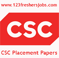 CSC Latest Placement Papers 2016 - Fully Solved
