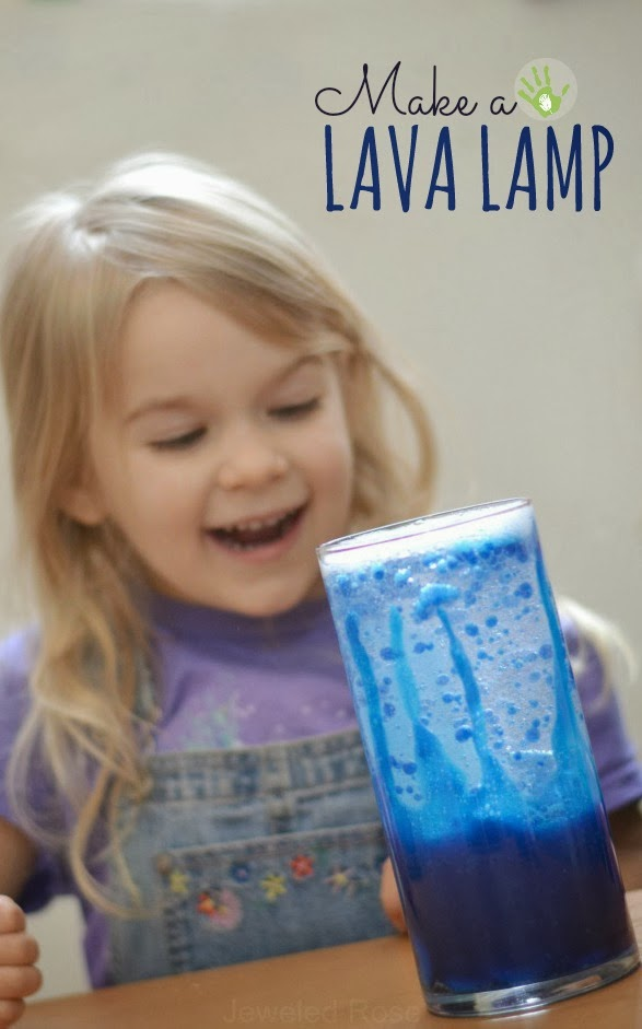 Make a lava lamp and WOW the kids- super simple FUN!