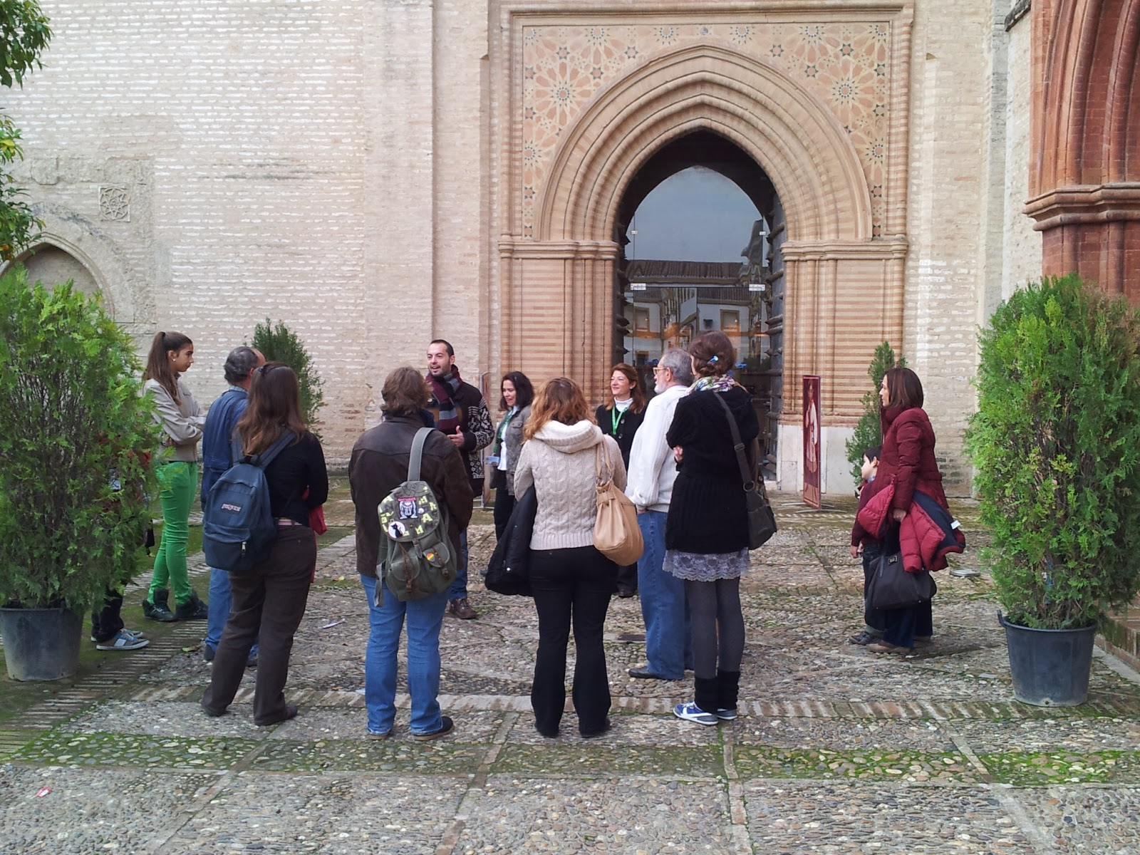Imagen de la visita al Enclave Monumental San Isidoro del Campo