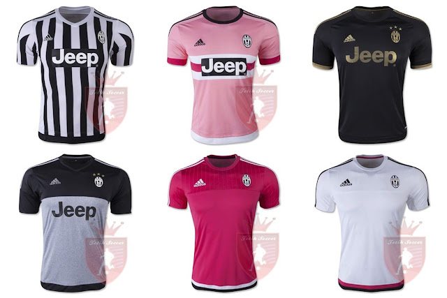 Jersey AC Milan Home, Away, Third/3rd, Training Kit 2015-2016