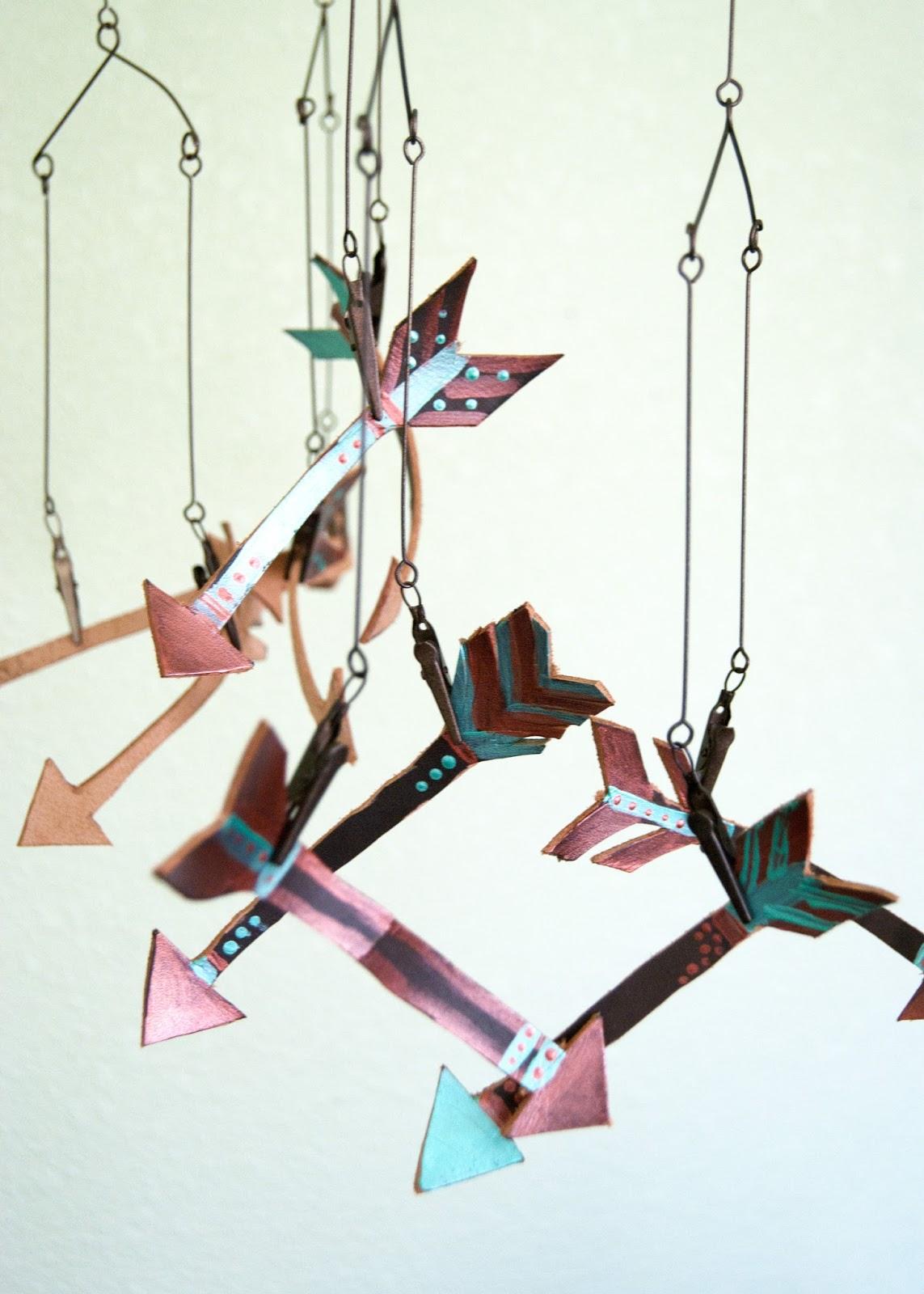 Leather Arrow Mobile