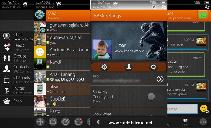 BBM Mod Ui Big DP Terbaru for Android