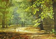 Joanna MilczewskaW parkumalarstwo akrylowepłótno 100 x 70 cm .