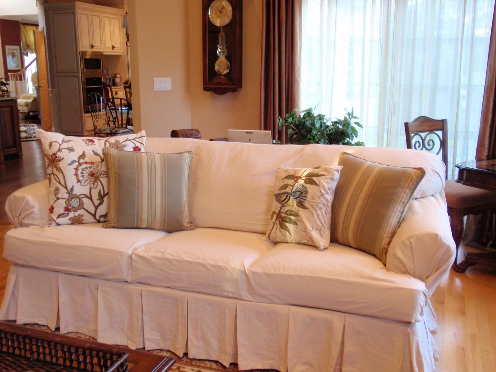 Ugly Sofa Slipcover Giveaway