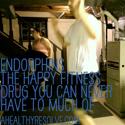 Endorphins: The happy little fitness drug you can never have to much of