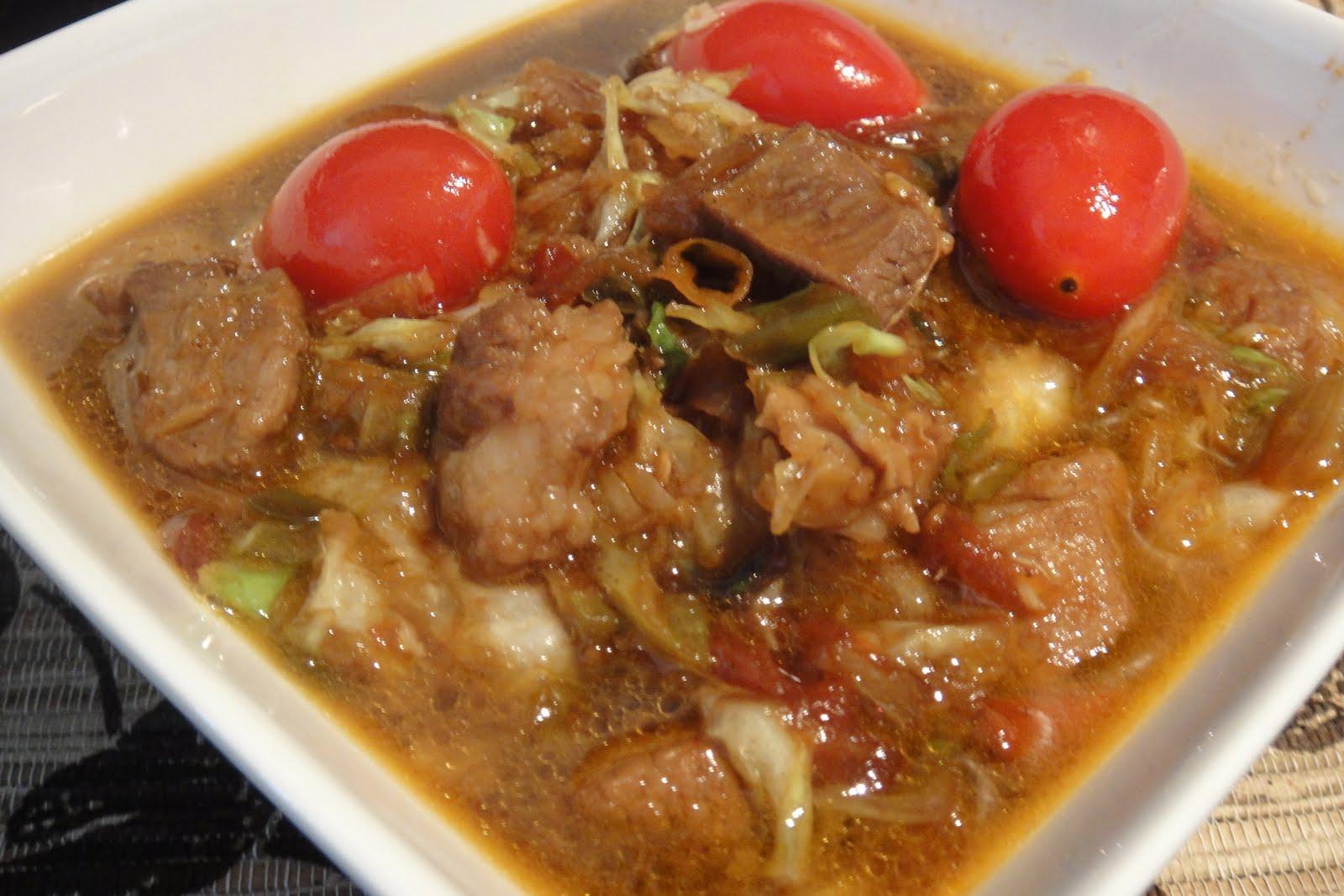 resep masakan indonesia resep tongseng kambing