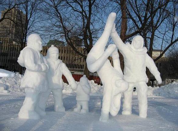 amazing art of snow - photo #12