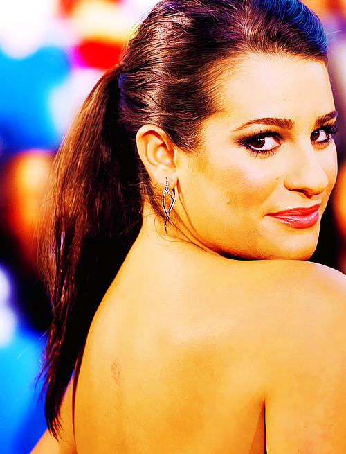 Lea Michele Hairstyles 48