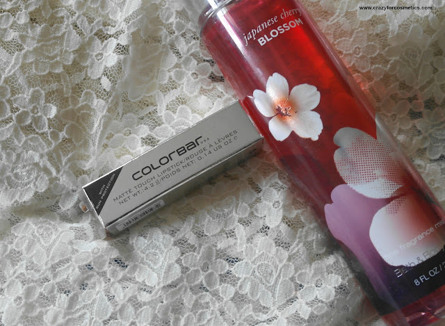 colorbar matte touch lipstick review