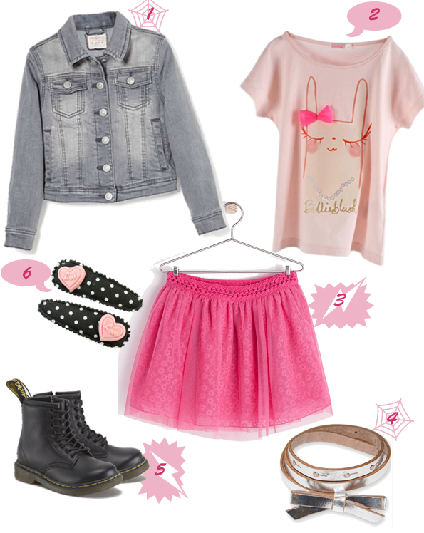 Le look Princesse pink rebelle