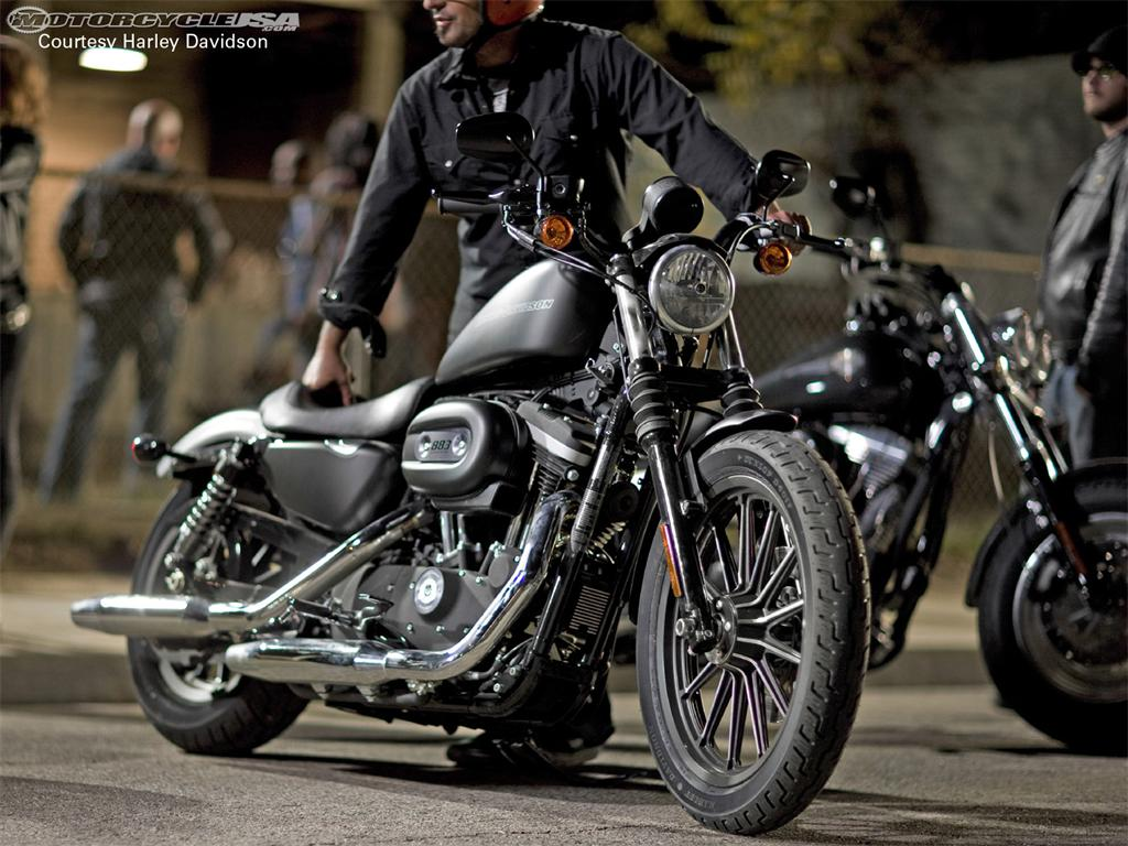 harley davidson iron 883. Black Bedroom Furniture Sets. Home Design Ideas