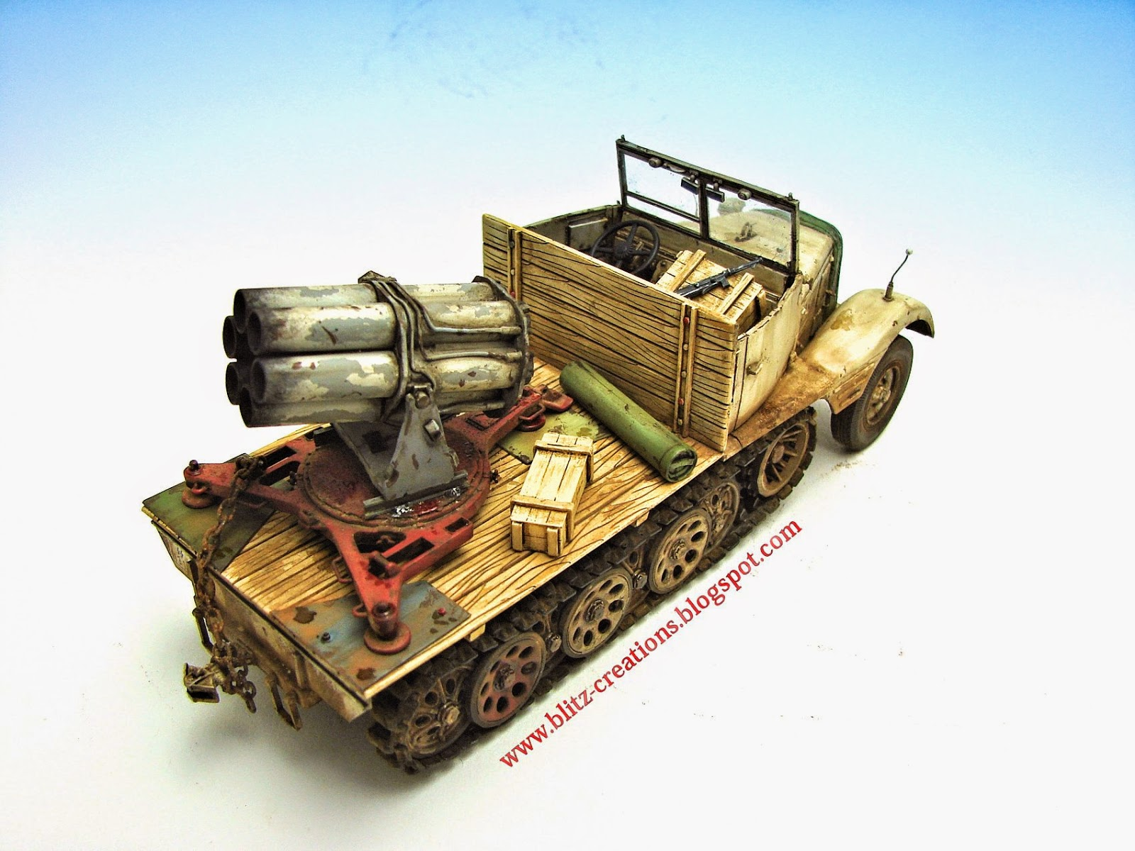Zugkraftwagen Sd.Kfz.11 Model kit Schatton Modellbau & FlaK SMK 18 ...
